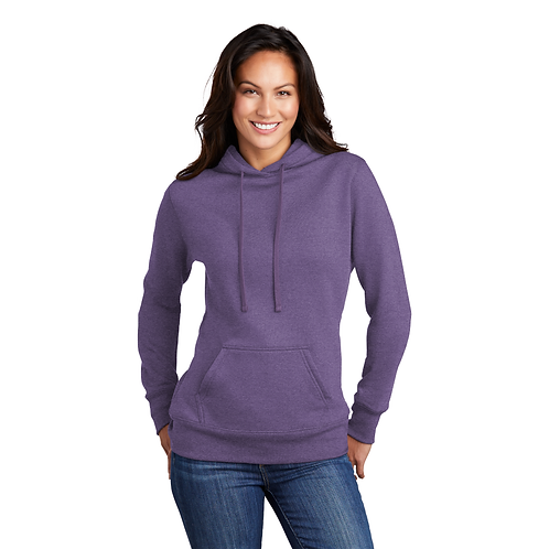 Golden LPC78H NEW Port & Company ®  Ladies Core Fleece  Hooded Swea