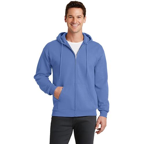 HTBC PC78ZH Port & Company® Core Fleece Full-Zip Hooded Sweatshirt