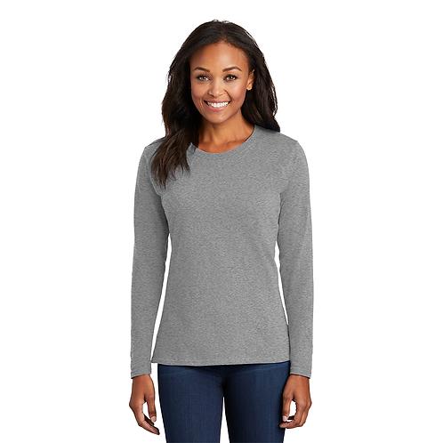 HBTC LPC54LS Port & Company® Ladies Long Sleeve Core Co