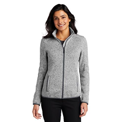 Pap Infinity L232 Port Authority® Ladies Sweater Fleece Jacket