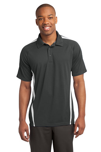 (USCSS) ST685 Sport-Tek® PosiCharge® Micro-Mesh Colorblock Polo