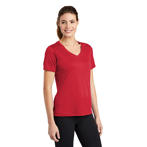 Triune Agility LST353 Sport-Tek® Ladies PosiCharge® Competitor™ V-Neck Tee