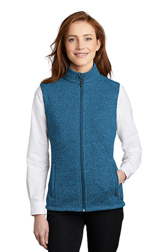 AKC L236 Port Authority ® Ladies Sweater Fleece Vest