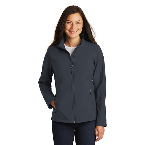 (USCSS)L317 Port Authority® Ladies Core Soft Shell Jacket