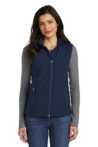 NP Standing Pap L325 Port Authority® Ladies Core Soft Shell Vest