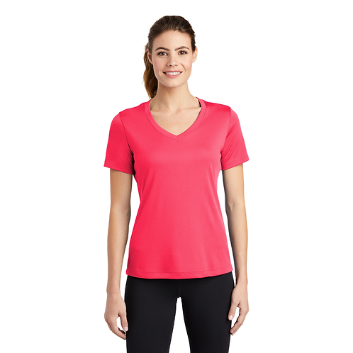 Golden LST353 Sport-Tek® Ladies PosiCharge® Competitor™ V-Neck Tee
