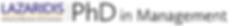 PhD in Management logo