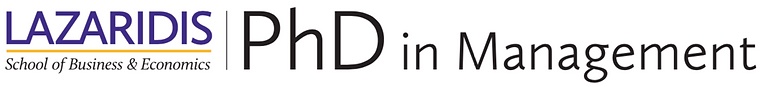 PhD in Management logo
