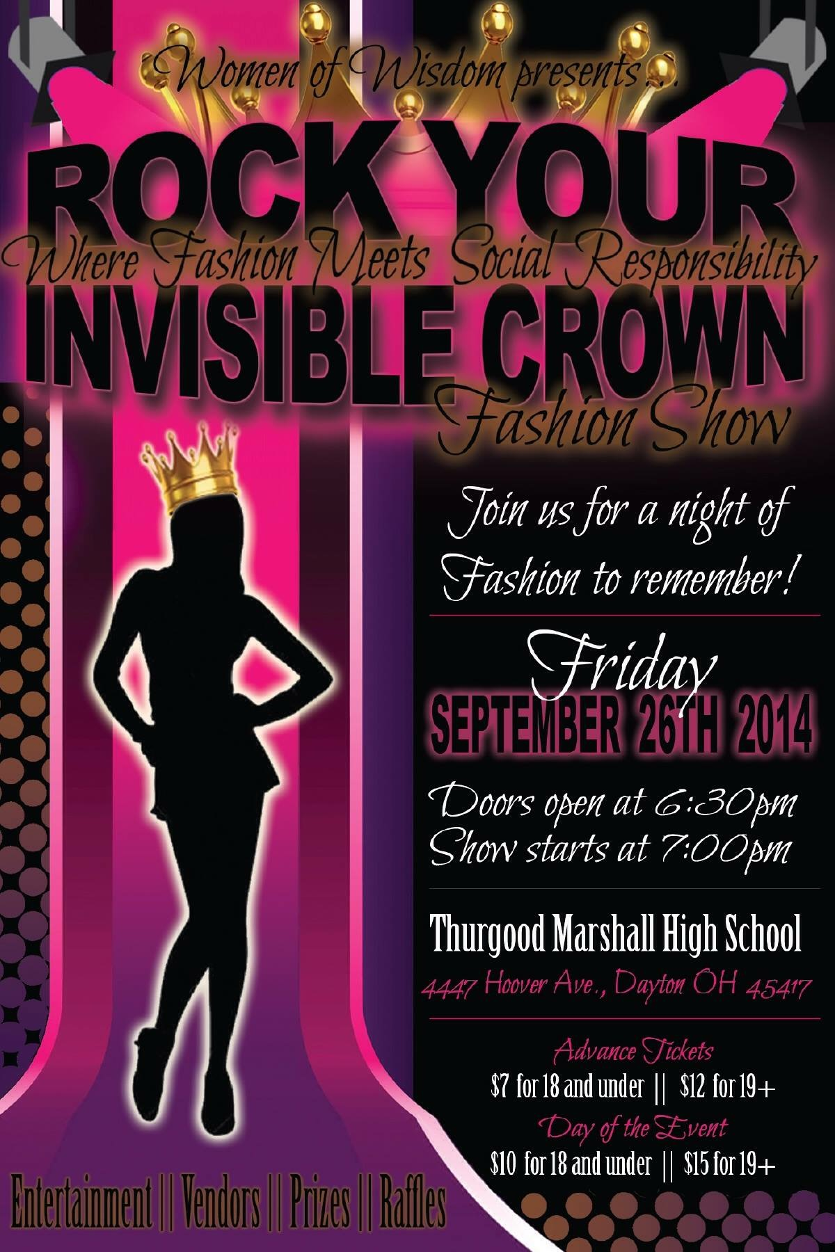 Rock Your Invisible Crown