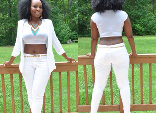 All White, All White, All White (in my Kevin Hart voice)