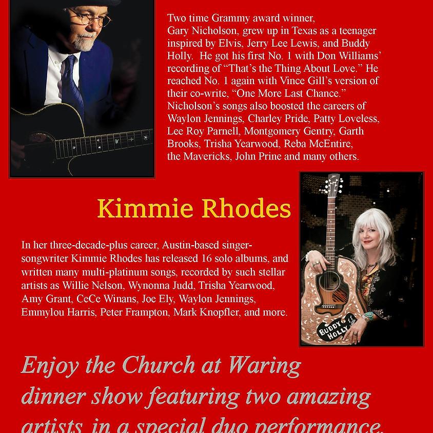 AN EVENING WITH GARY NICHOLSON & KIMMIE RHODES