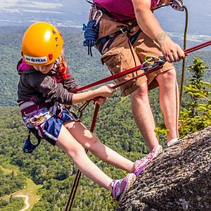 Jay Peak Summit Rappelling & Climbing Adventure