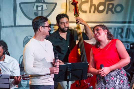 com Leonel Laterza, por Israel Lima