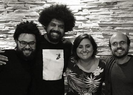 com Oséias, Rafael dos Anjos e Túlio Borges