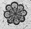 flor em vitral - desenho de nathália lima