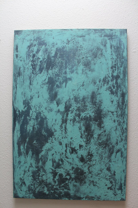 120x 80 cm Arylfarbe auf Leinwand