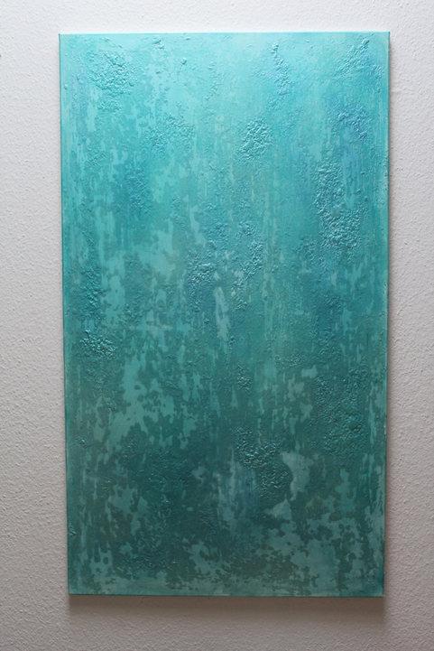 140x80 Acrylfarbe auf Leinwand