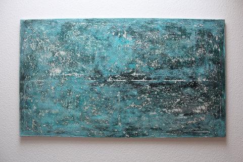 140x80cm Acrylfarbe auf Leinwand