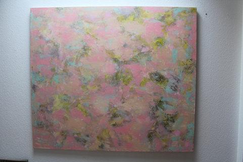 140x150cm Acrylfarbe auf Leinwand