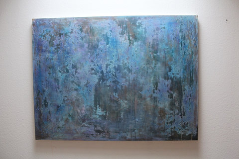 120x160cm Acrylfarbe auf Leinwand