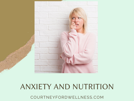 Anxiety and gut health