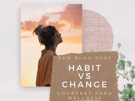 Habit vs Change