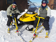 Vicky & Linda Ski biking .JPG