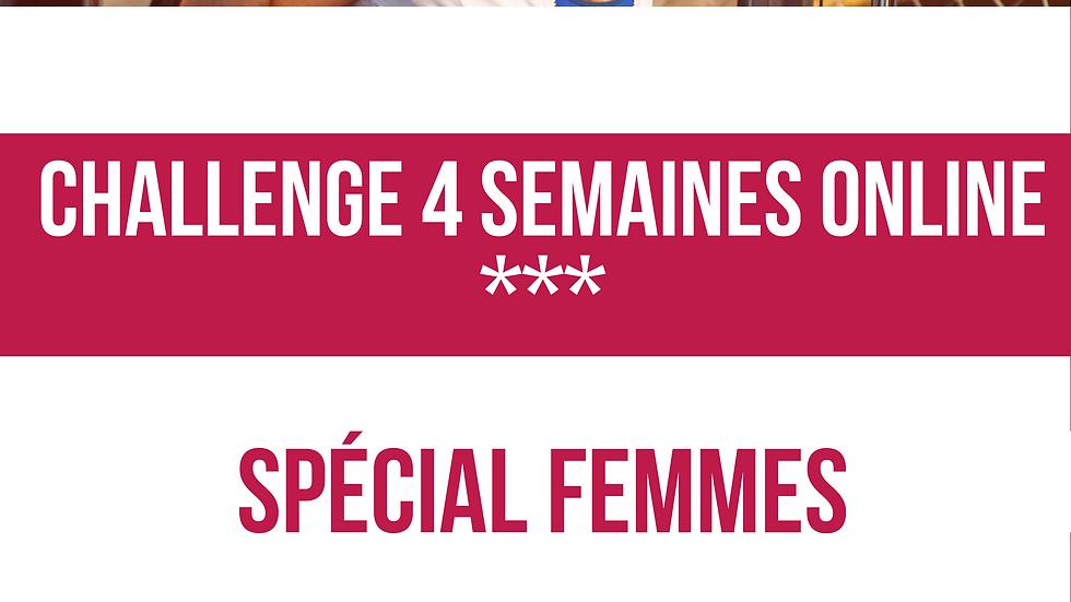 CHALLENGE JANVIER 2020 SPÉCIAL FEMMES
