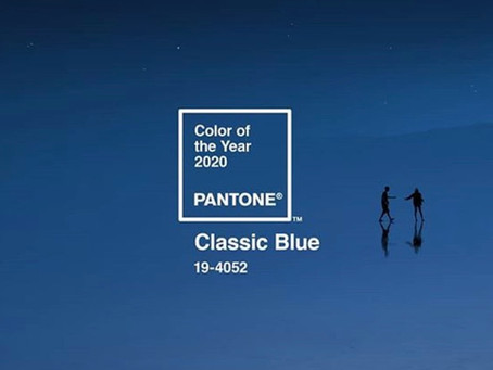 Classic Blue : Color of 2020