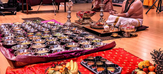 Food for temple rituals
