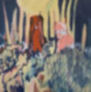 man in a red hood  80 x 80 cm.jpg