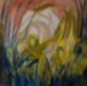 Translucent gods, oil on canvas , 2018,