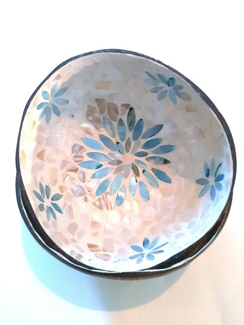 Zen Flower Coconut Bowl Set