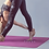 Thumbnail: Eco-Friendly Monochrome Yoga Mat with Position Lines & Carry Bag