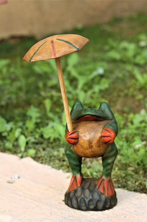 Umbrella Garden Frog