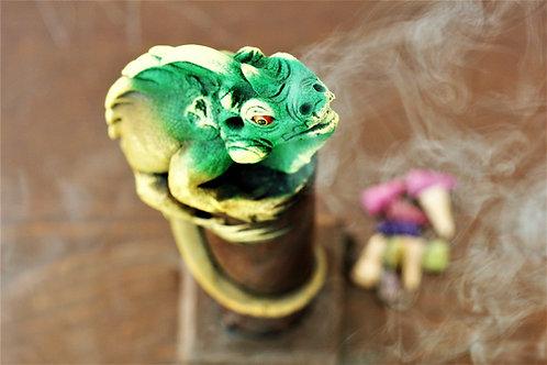 Iguana  Cone/Incense Stick Stand