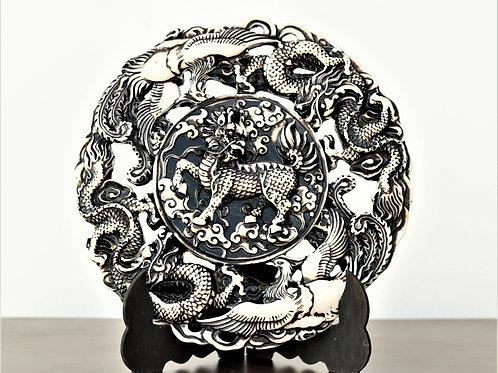 Asian Dragon Plate