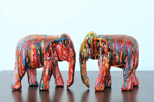 Abstract Elephant Set