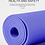 Thumbnail: Eco-Friendly Bicolour Yoga Mat with Position Lines & Carry Bag
