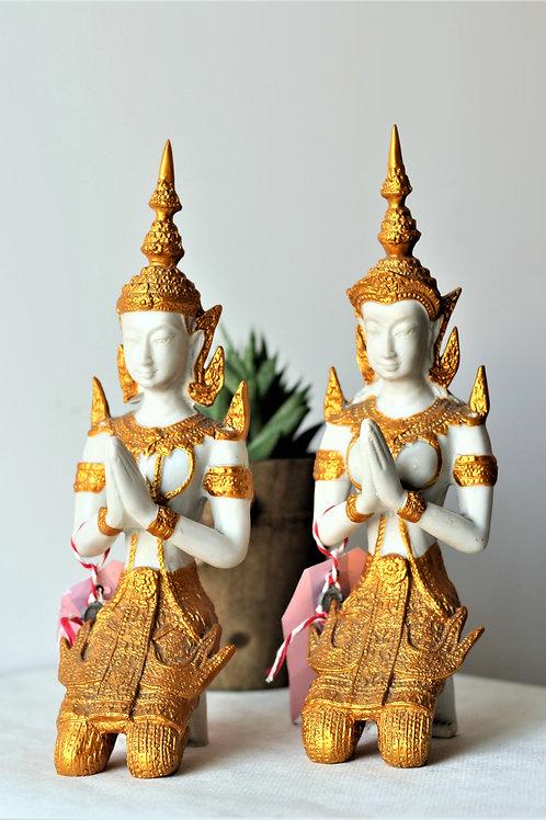 Thai Thepphanom Pair Statue