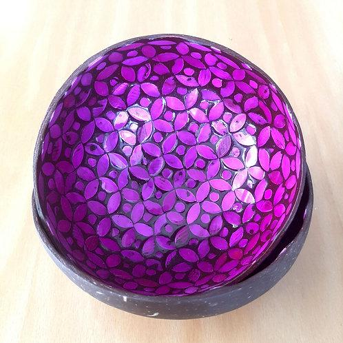 Lilac Coconut Bowl Set