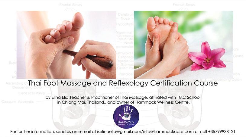 thai foot massage and reflexology course