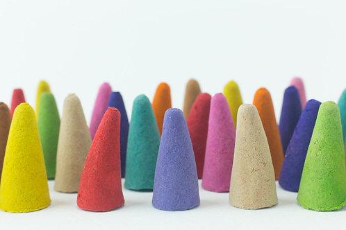 Handmade Incense Cones (per 10 cones)