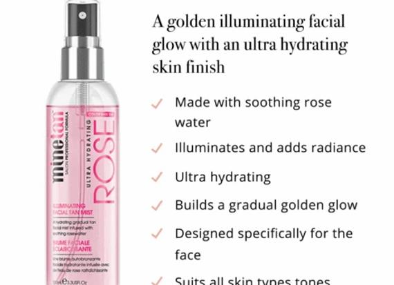 Rose Illuminating Facial Tan Mist