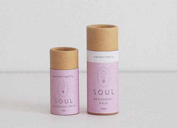 soul deodorant balm - 30ml tube