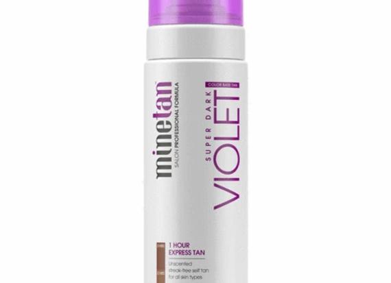 Violet Self Tan Foam