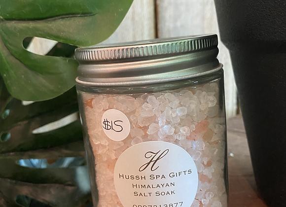 himalyan salt soak