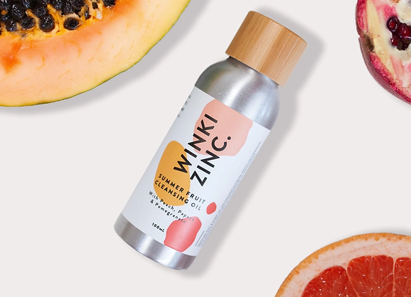 cleansing oil summer fruits
