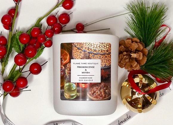 Frankincense and myrrh Candle Jar