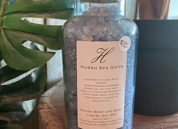 lavender infused rock epsom